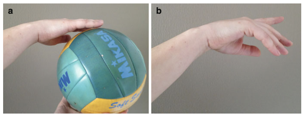palm-hand-touching-handball
